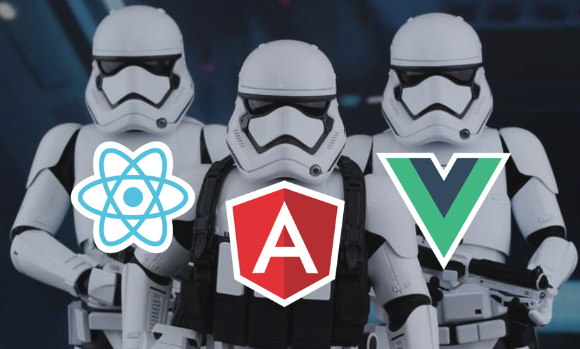 angular 6 vs react