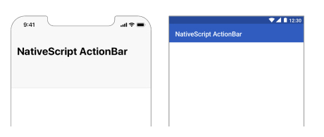 Native Android and iOS Application with NativeScript and