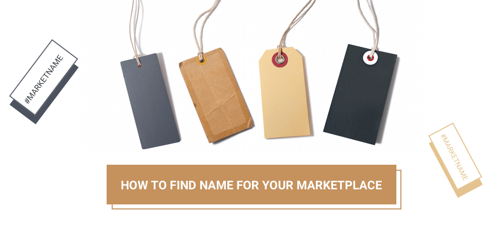 Illustration How to Find Name for Your Marketplace