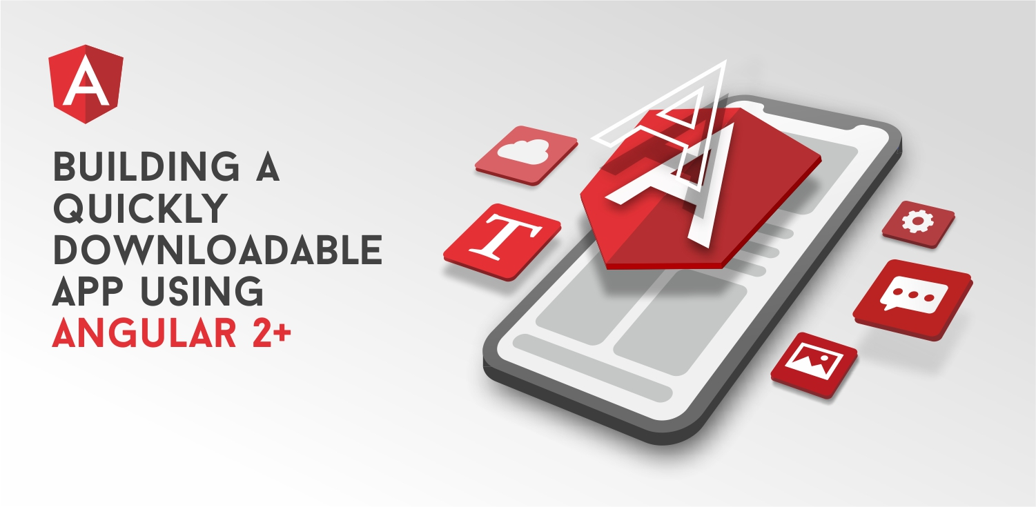 Illustration Optimization of the Angular 2+ app download speed