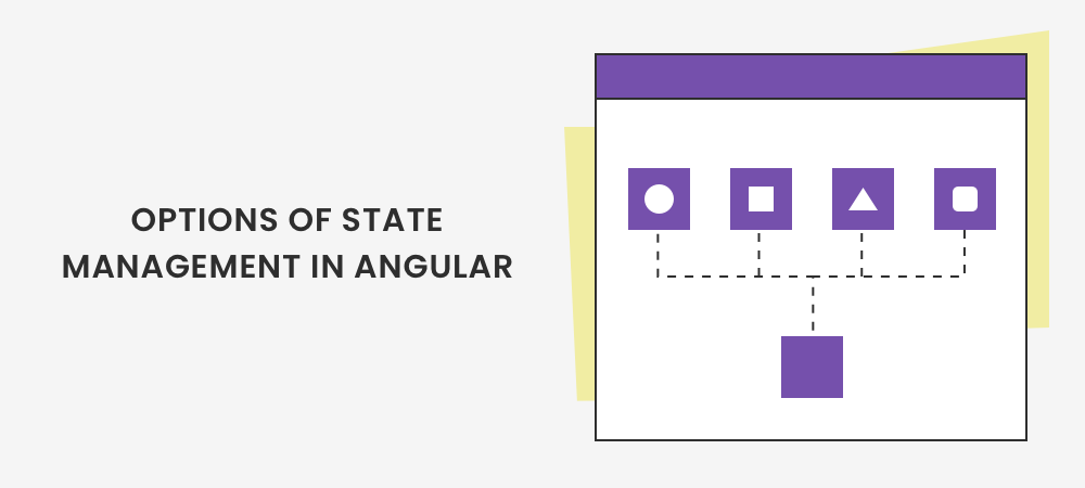 Options of State Management in Angular