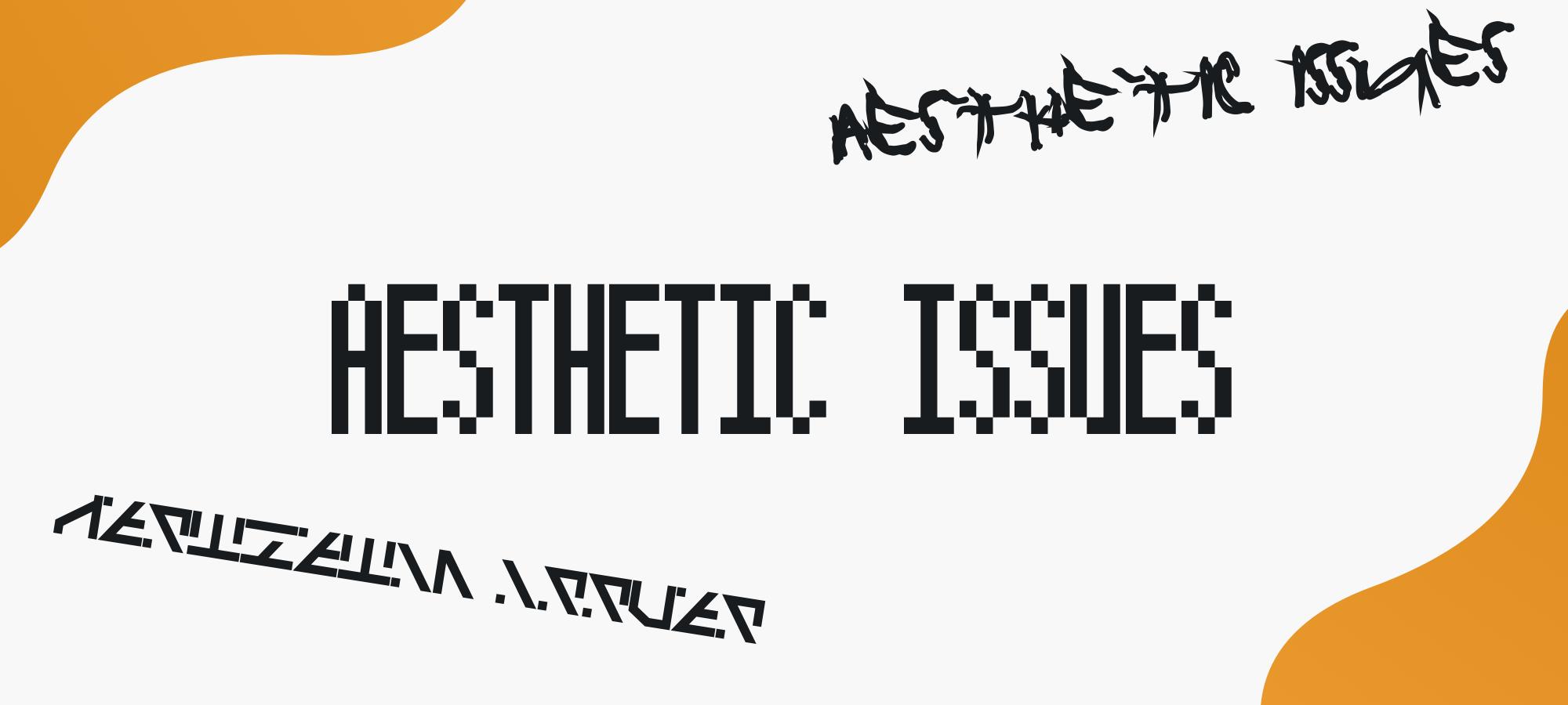 aestethic-issues