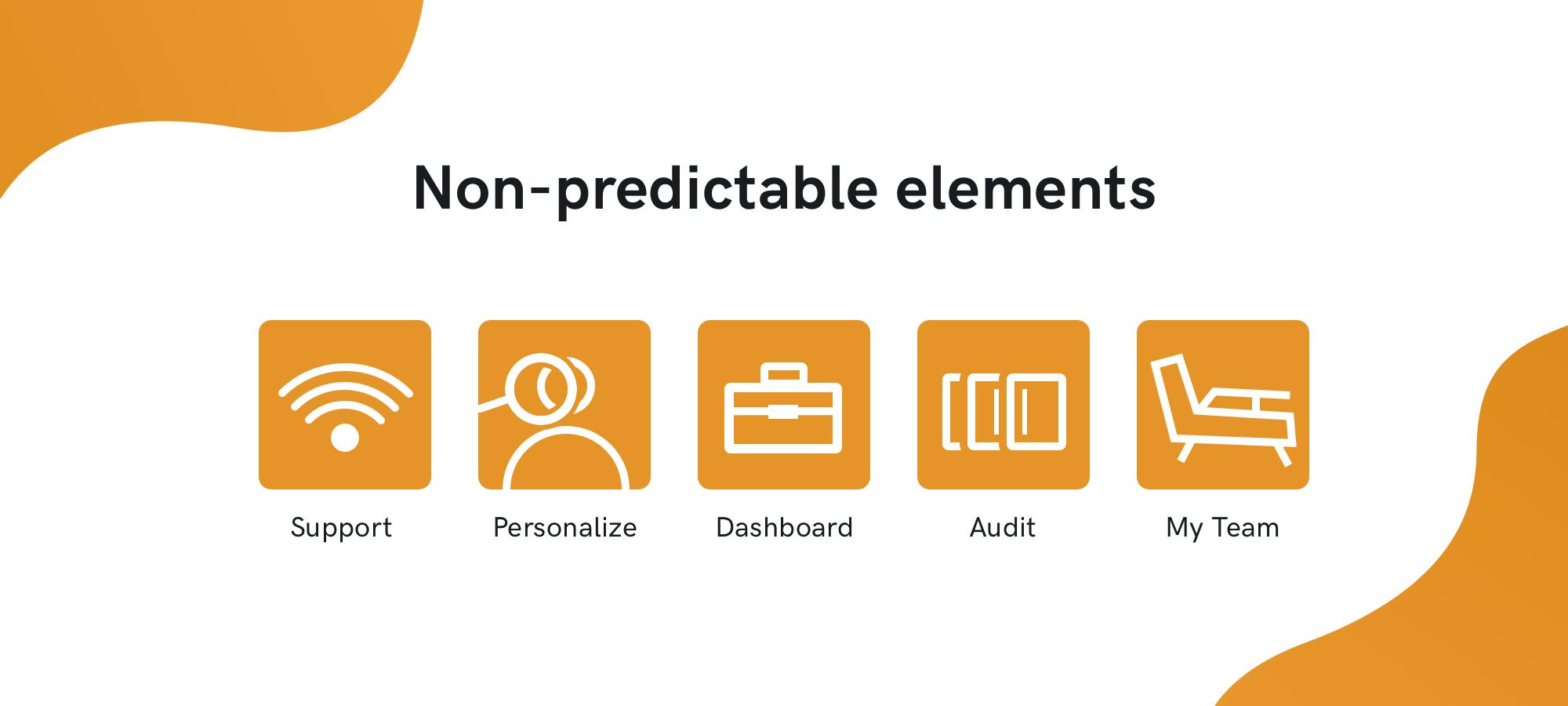 non-predictable-elements