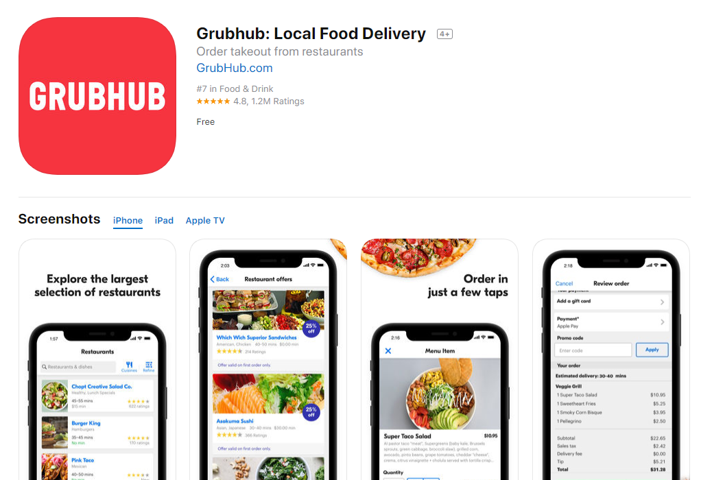 Grubhub_Local_Food_Delivery