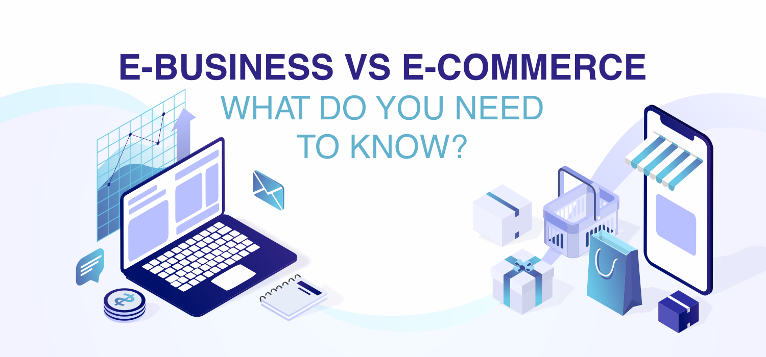 what is e business and e commerce