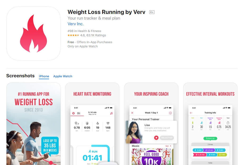Weight_Loss_Running_by_Verv