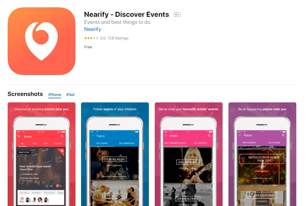 Nearify_Discover_Events