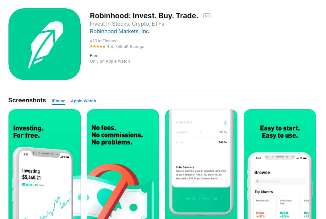 Robinhood_Invest_Buy_Trade