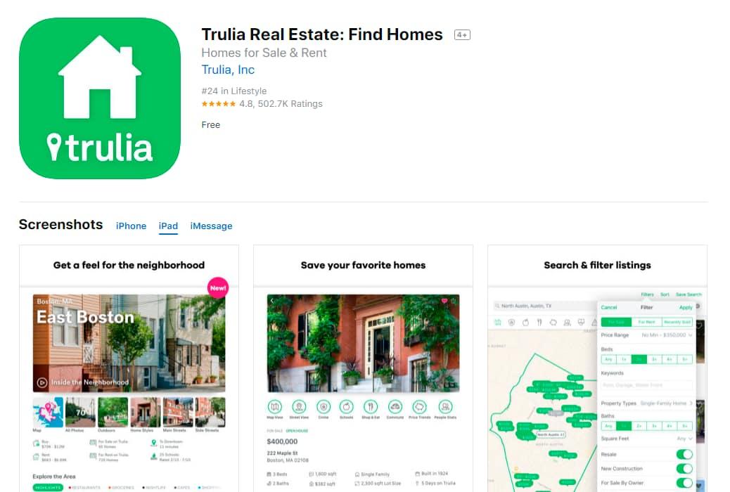 Trulia_Real_Estate_Find_Homes