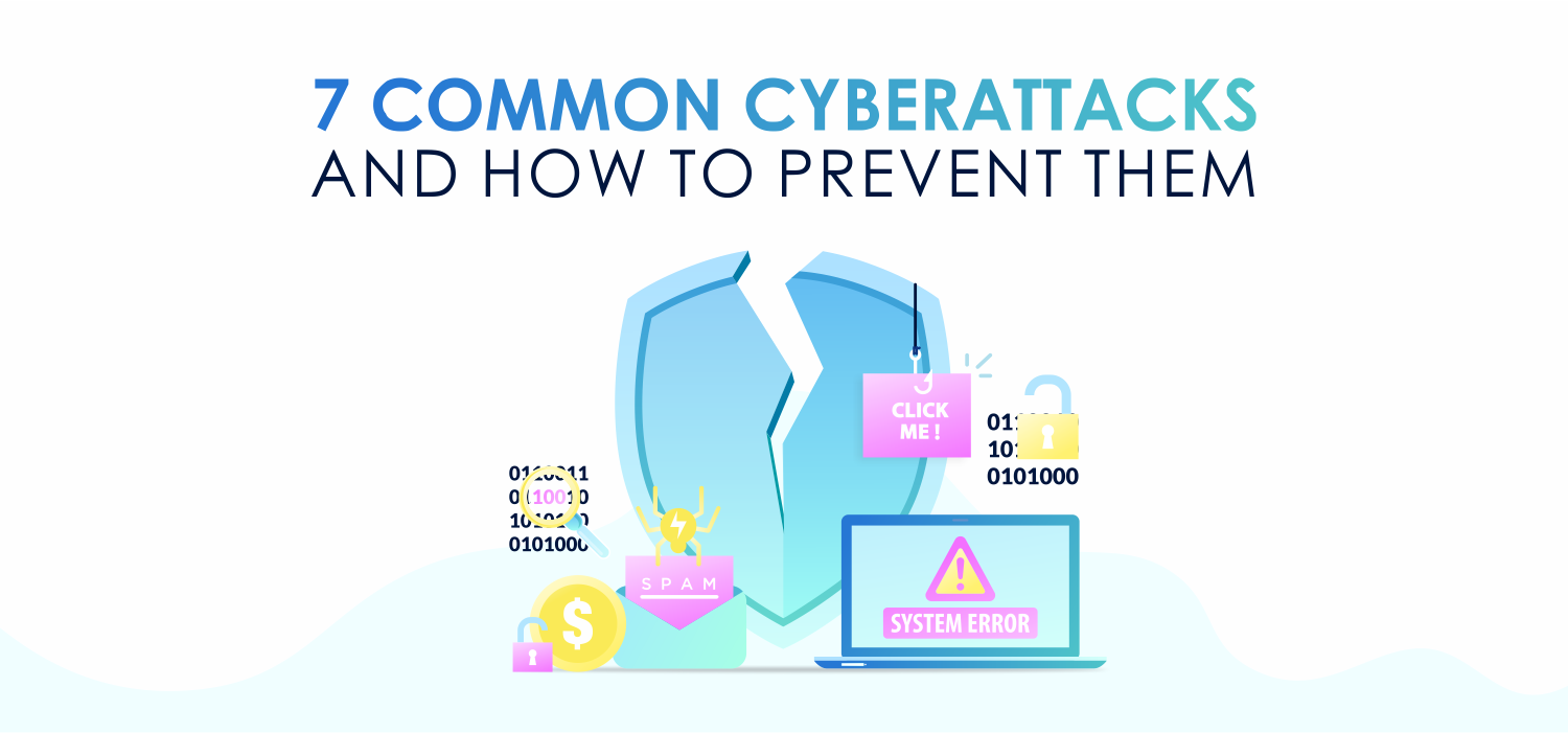 7 Common Cyberattacks and How to Prevent Them