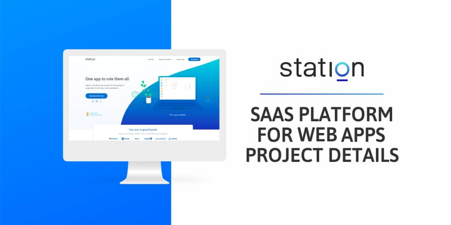 How We Built SaaS Platform For Web Apps - Station
