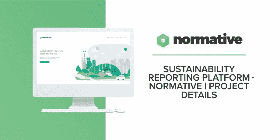 Sustainability Reporting Platform - Normative | Project Details