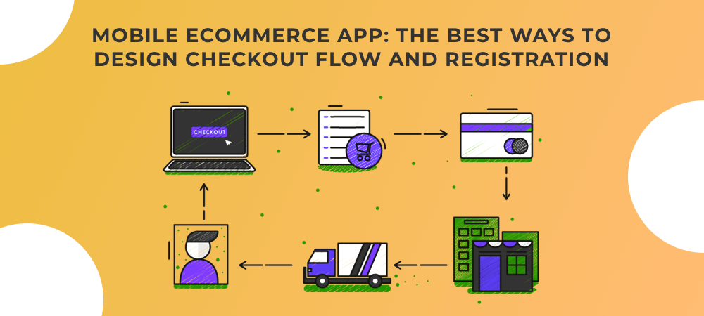 eCommerce App Development: Checkout Flow and Registration Features