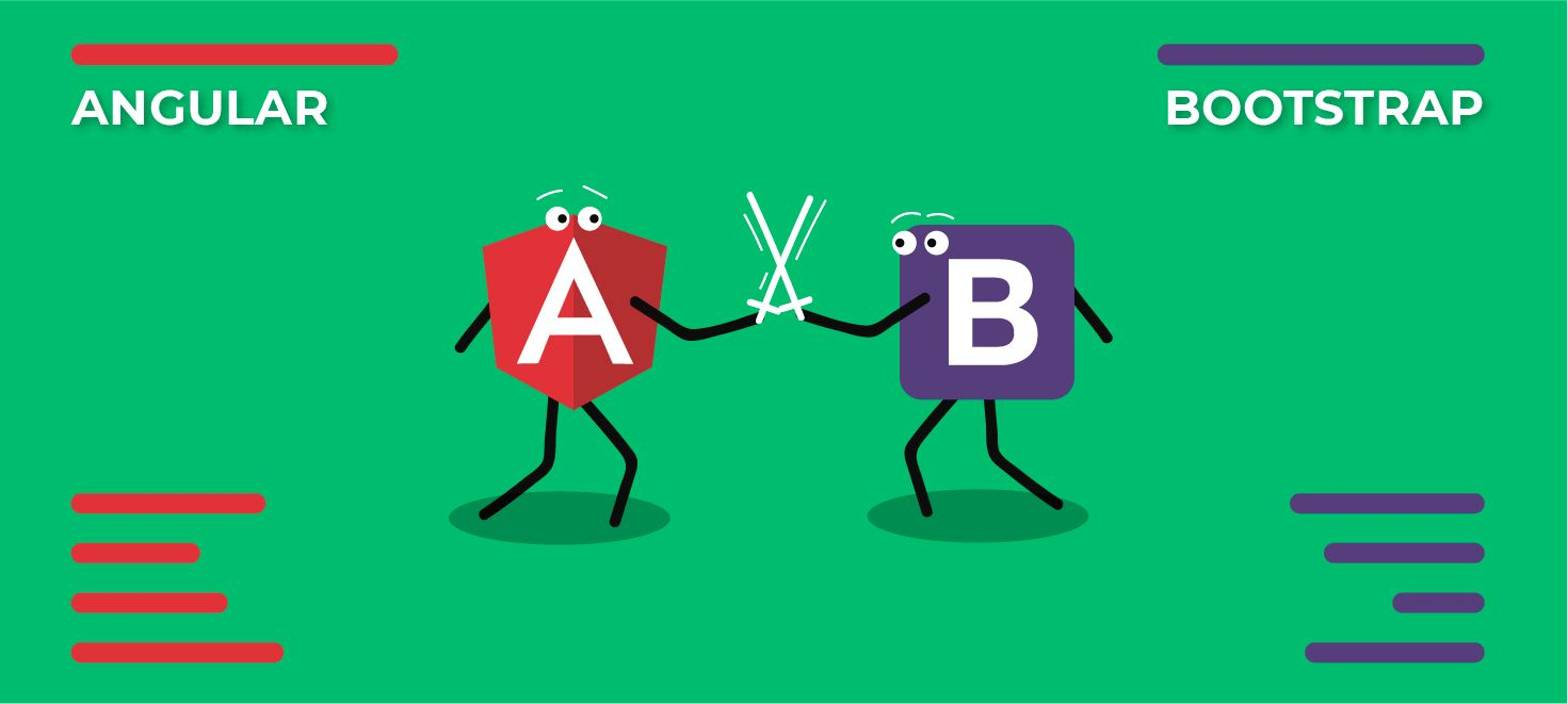Competitive Review of Angular Material and Bootstrap Framework