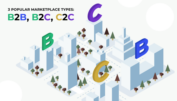 3 popular Marketplace Types You Can Build in 2018: B2B, B2C, C2C