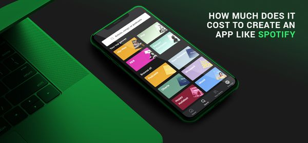 How Much Does It Cost to Create an App Like Spotify