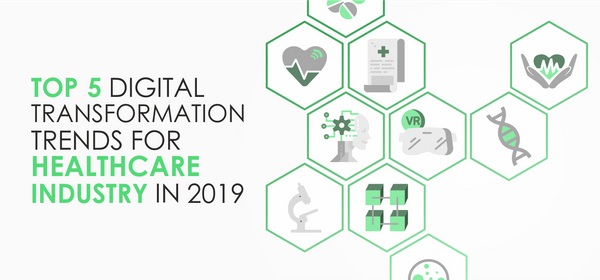 Top 5 Digital Transformation Trends for Healthcare Industry in 2019