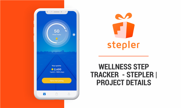 Wellness Step Tracker - Stepler | Project Details